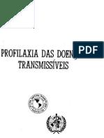 PROFILAXIA DAS DOENÇAS TRANSMISSÍVEIS