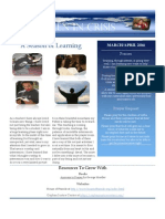 March/April Newsletter 2011