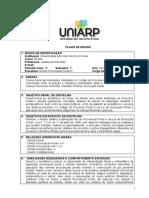 PLANO DE ENSINO PROCESSO PENAL III 2014