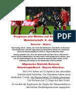 Prognose und Wetten auf die deutsche Meisterschaft