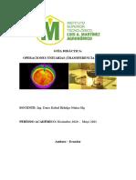 Guia Didáctica Operaciones Unitarias (Transferencia de Calor)