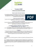 Fondation SUEZ-Critères_4 domaines_FR_juin 2020