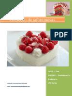 UFCD 1764 Confeção de Sobremesas Índice