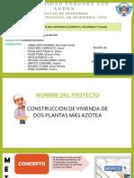 Analisis Del Metrado ( Zapatas ,Columnas Y Vigas)_Grupo 4_diapositivas de Exposicion