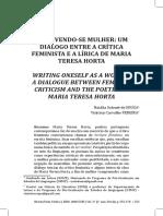 SOUZA Natalia ESCREVENDO-SE MULHER
