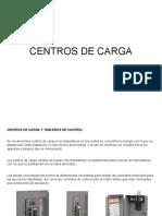 Centros de carga y transformadores