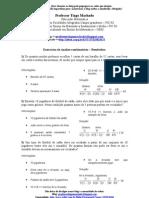 apostila de 84  Exercicios Resolvidos de analise combinatória