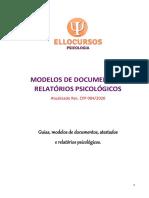 Modelos de Documentos e Relatórios Psicológicos