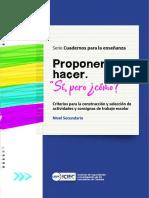 Iciec-ProponerHacer-2020 Diseño de Acitivades y Consignas
