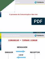 O processo da Comunicação e Seu Uso II