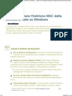 3 Modi Per Cambiare l'Indirizzo MAC Della Scheda Di Rete Su Windows._c