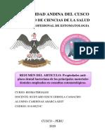 Resumen Articulo Biomateriales