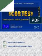 Matemática PPT - Geometria - Sólidos Geométricos - Cortes
