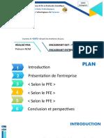 modèle Présentation PFE 2021