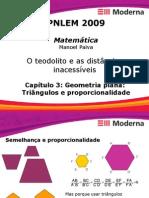 Matemática PPT - Geometria Plana Triângulos e Proporcionalidade
