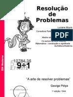 Matemática PPT - Resolução Problemas Teorias