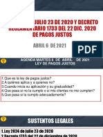 DIAPOSITIVAS LEY 2024 DE PAGOS  JUSTOS