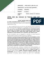 MAYRA ROJAS VENTURA - ACLARACION DE RESOLUCION N°05