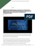 Manual de buenas prácticas en sistemas de refrigeración y climatización _ ACR Latinoamérica