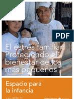 El estres Familiar protegiendo el bienestar de los mas pequeños