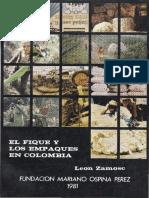 El Fique y Los Empaques en Colombia - Leon Zamosc, 1981