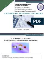 Unidad III. Estructura del Patrimonio. Ecuación dinámica y estática