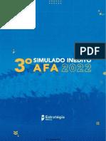 3° Simulado AFA