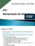 MaterialAula_PHP_ManipulaçãoDataHora