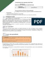 GUIA 2 CARACTERIZACION DE VARIABLES CUANTITATIVAS (histograma, poligono de frecuencias y promedio)