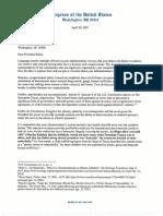 Letter White House Open Border Crisis FINAL 4-26-21