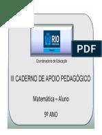 9AnoMatematicaAluno3CadernoNovo