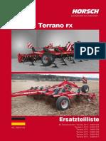 Horsch Terrano 3-3,5-4-5-6-8 FX-ET