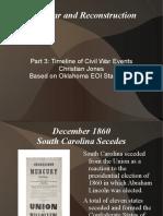 civil war and reconstruction part 3