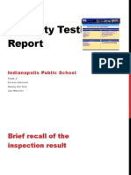 IPS Usability Testing Report - Presentation