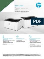 HP Laser 107 Printer Series