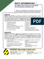 HUSKEY 2000 Anti-Seize Compound_RU