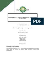 Case 3 - Pharmacyclics  Group 6