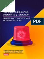 Informe OIT Día Mundial de La SST 2021