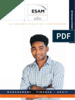 Esam Paris Annales Epreuves Ecrites 2020