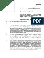 DDU136 - DIVISIONES PREDIALES Y OBRAS DE CONSTRUCCION EN ÁREA RURAL