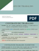 Contrato de Trabalho (modalidades)