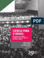 70 Anos da Sociedade  Brasileira para o Progresso  da Ciencia (SBPC)