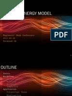 Rapid Energy Assessment Workflow