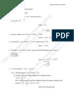 Trigonometric Functions-Summative