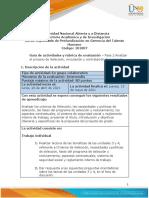 Guía de Actividades y Rúbrica de Evaluación - Unidad 3 y 4 - Fase 2 - Analizar El Proceso de Selección, Vinculación y Contratación de Personal.