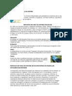 Informe Refugios de La Vida Silvestre