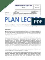 Plan Lector 1 Jose Porras 10c
