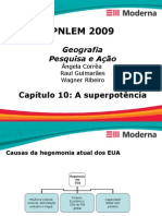 Geografia PPT - Capítulo 10 - A superpotência