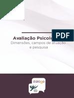 AVALIAÇÃO PSICOLÓGICA dimensões, campos de aplicação e pesquisa