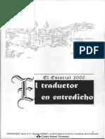 la terminología en la teoría y en la practica de la traducción, [Adamo Giovanni] (2002)